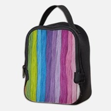 Thread Colors Neoprene Lunch Bag