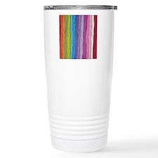 Thread Colors Ceramic Travel Mug