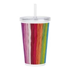 Thread Colors Acrylic Doublewall Tumbler