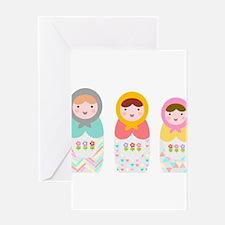 Babushka Dolls Greeting Cards
