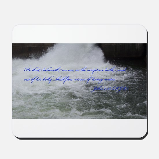 Rivers of Living Water Mousepad
