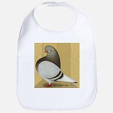 Brown Bar Pigeon Bib
