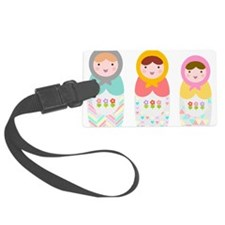 Babushka Dolls Luggage Tag