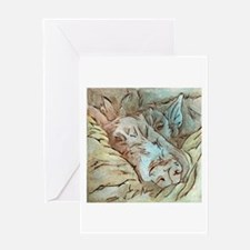 Let Sleeping Dogs Lie Greeting Cards
