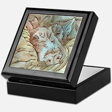 Let Sleeping Dogs Lie Keepsake Box