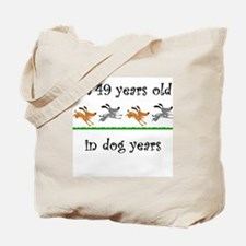 7 dog birthday 1 Tote Bag