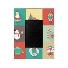 Retro Christmas Picture Frame
