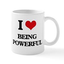 I Love Being Powerful Mugs