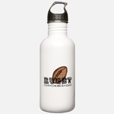 rugby36.png Water Bottle