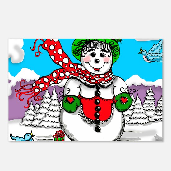 SnowLady Postcards (Package of 8)