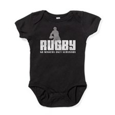 rugby12colored.png Baby Bodysuit