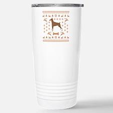 Christmas Dobe Travel Mug
