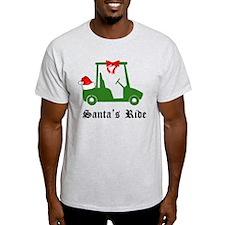 Unique Santa golfing T-Shirt