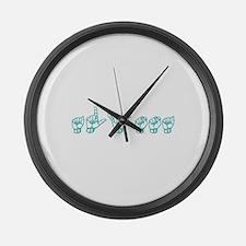 Alyssa Large Wall Clock