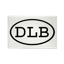 DLB Oval Rectangle Magnet (10 pack)