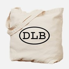 DLB Oval Tote Bag