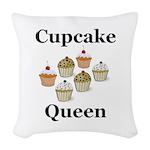 Cupcake Queen Woven Throw Pillow