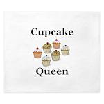 Cupcake Queen King Duvet