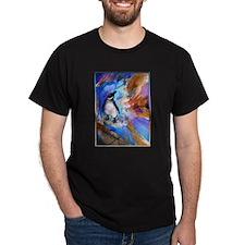 Penguin, wildlife art, T-Shirt