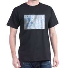 Blue Snowflake T-Shirt