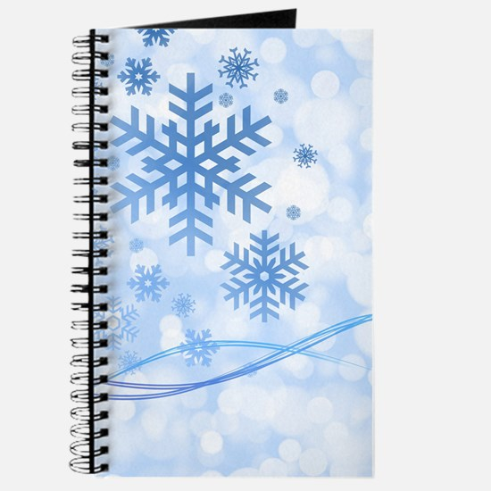 Blue Snowflake Journal
