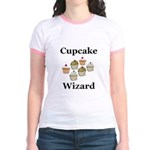 Cupcake Wizard Jr. Ringer T-Shirt