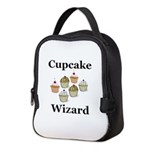 Cupcake Wizard Neoprene Lunch Bag
