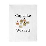 Cupcake Wizard Twin Duvet
