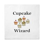 Cupcake Wizard Queen Duvet