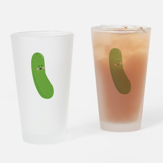 Funny Pickle Drinking Glass