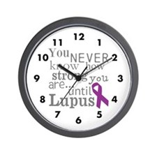 You Never know,Lupus Wall Clock