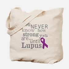 You Never know,Lupus Tote Bag