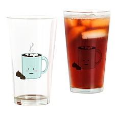 Hot Chocolate Drinking Glass