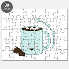 Chocolate Is Answer Puzzle