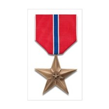 Bronze Star Decal