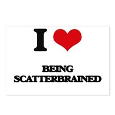 I Love Being Scatterbrain Postcards (Package of 8)