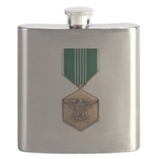 Army Commendation Flask
