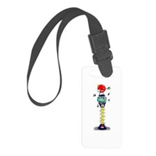 Big Bubble Buster Luggage Tag