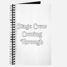 Stage Crew Coming Through Journal