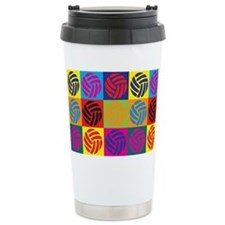 Cute Funny volleyball Travel Mug