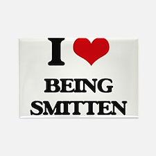 I love Being Smitten Magnets