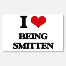I love Being Smitten Decal