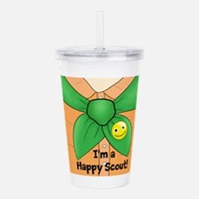 Happy Scout! Acrylic Double-wall Tumbler