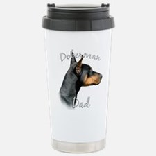 Cute Fathers day dog Travel Mug