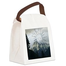 Dream Big Canvas Lunch Bag