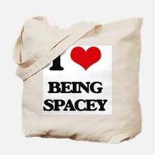 I love Being Spacey Tote Bag