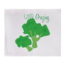 Good Grazing Throw Blanket