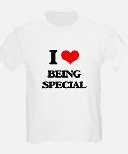 I love Being Special T-Shirt