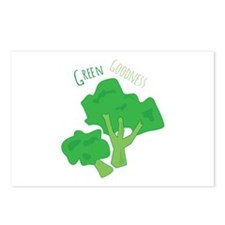 Green Goodness Postcards (Package of 8)