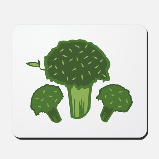 Broccoli Bunch Mousepad